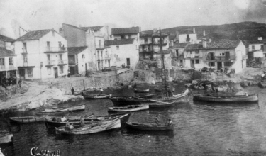 Boats in A Ribeira, 30-40´s