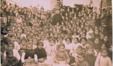 After catechism lessons in Corme, 1917 or 1920