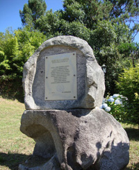 Memorial dedicated to the musicians of Froxán